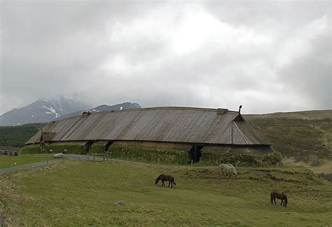 Traditional Japanese House Layout by The Viking Chieftain S Longhouse At Borg Thornews