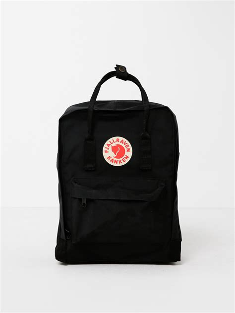 Black Backpack fjallraven k 229 nken backpack in black