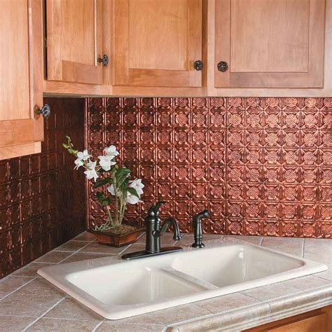 kitchen copper backsplash ideas copper kitchen backsplash ideas freshouz