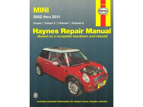 service repair manual free download 2008 mini cooper engine control haynes repair manual mini cooper 2002 2011
