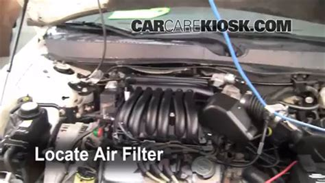 replacing air filter ford taurus replacing free engine