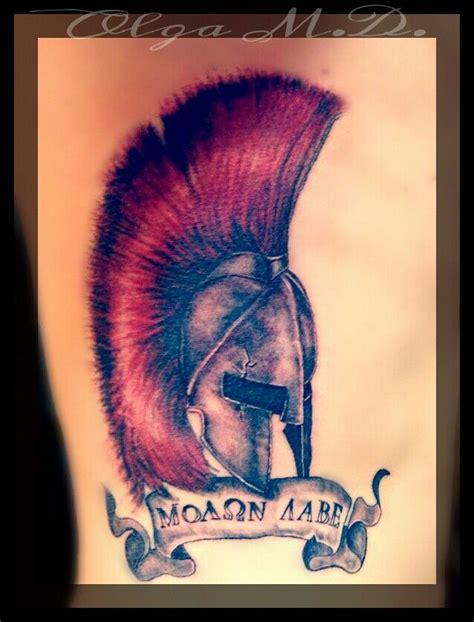 leonidas tattoo leonidas spartan helmet