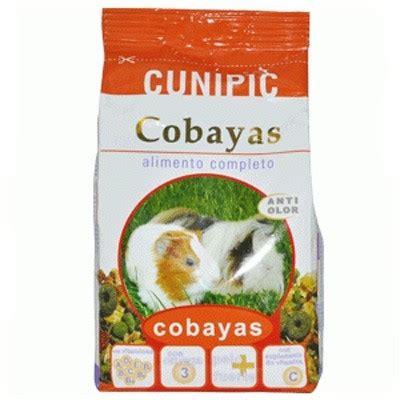 alimento para cobayas cunipic alimentacion para cobayas roedorespark