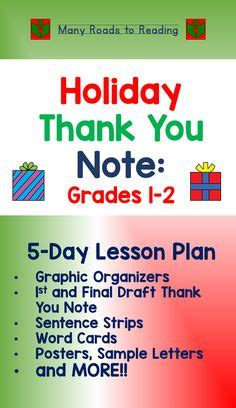 Thank You Letter Lesson Plan 1000 images about primary materials from tpt on