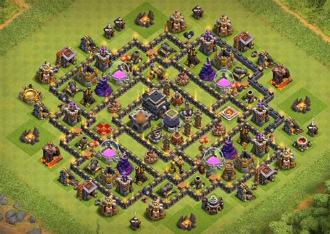 coc th9 base layout 75 best th9 bases anti everything all base designs