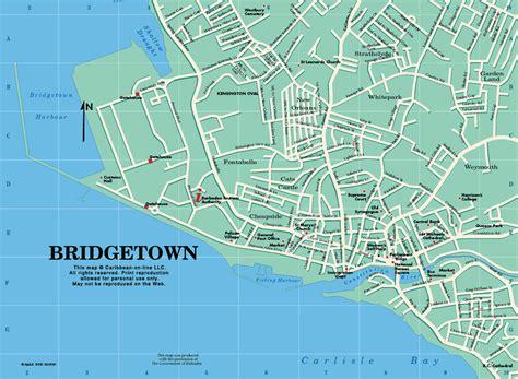 printable barbados road map caribbean on line barbados maps bridgetown