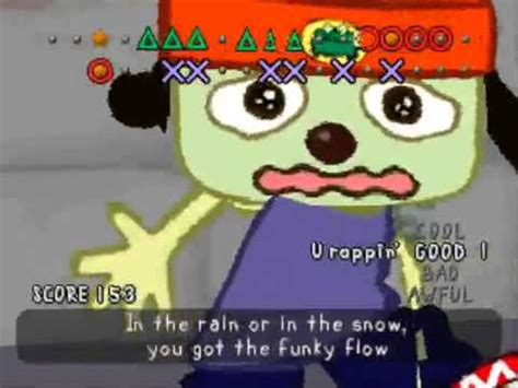 bathroom rap parappa the rapper ps1 youtube
