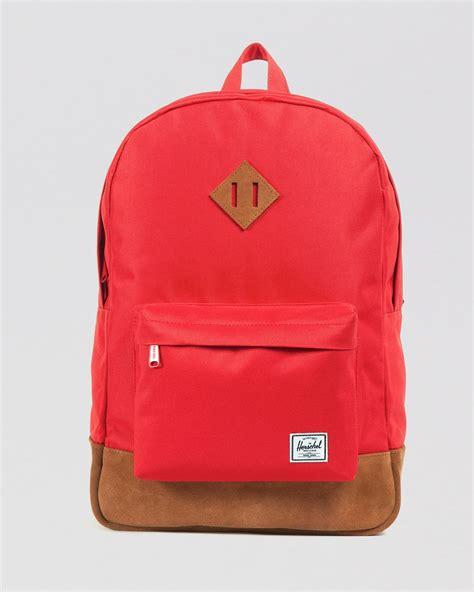 Theodor Backpack Heritage Series Grey Color herschel supply co heritage suede series backpack in for lyst