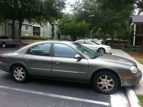 how to sell used cars 2001 mercury sable transmission control purchase used 2001 mercury sable ls premium sedan 4 door in great driving condition in atlanta