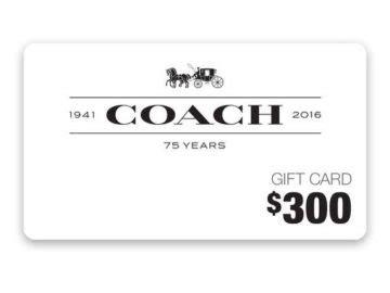 Coach Sweepstakes - ellen coach gift card sweepstakes