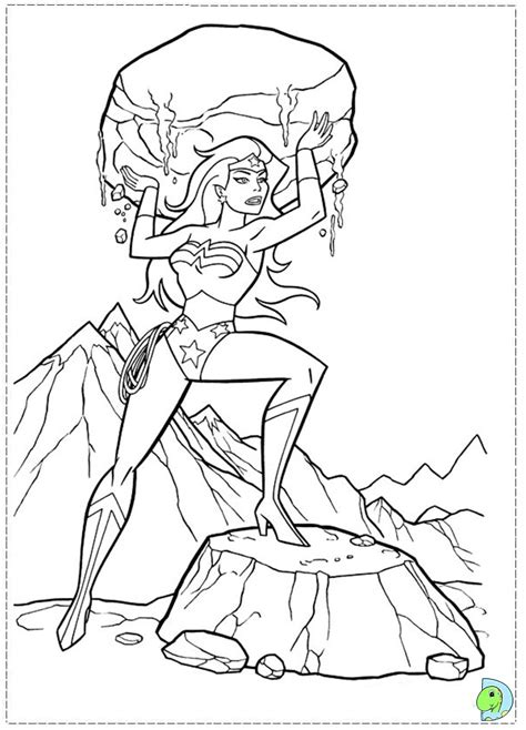 free coloring pages of wonderwoman symbol