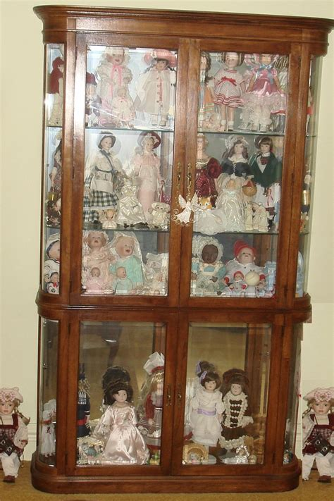 Display Cabinet For Dolls by Pulaski Furniture Corp Lighted Curio Doll Knick Knack