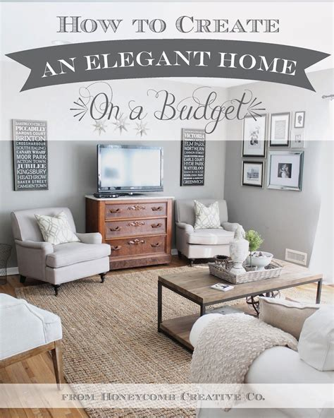 high end home decor how to create an home on a budget 7 tips and