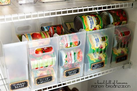 How To Best Organize Kitchen Cabinets - 17 canned food storage ideas to organize your pantry