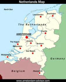 Amsterdam World Map by Where Is Amsterdam Location Of Amsterdam On The World Map