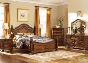 bedroom set messina estates traditional european style poster bedroom set