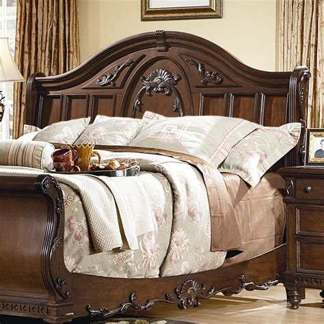 Kathy Ireland Bedroom Furniture by Kathy Ireland Home By Vaughan Southern Heritage Sleigh Bed