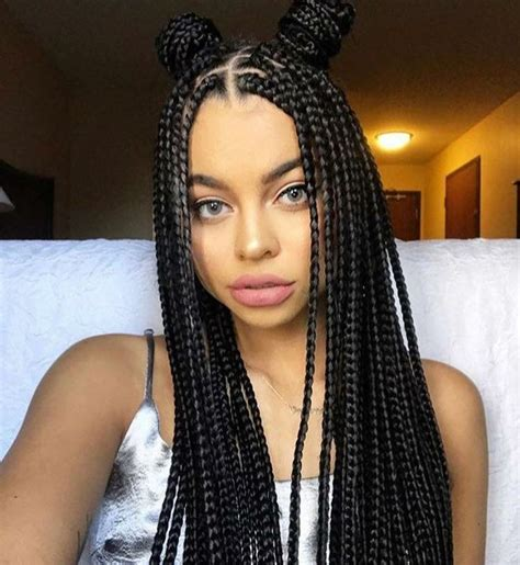 hair colors for box goddess braids 25 best ideas about black girl braids on pinterest