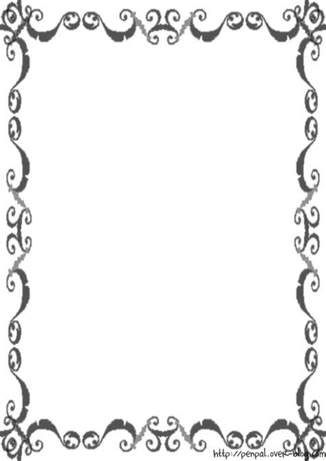 photo papier à lettre noir et blanc à imprimer gratuitement