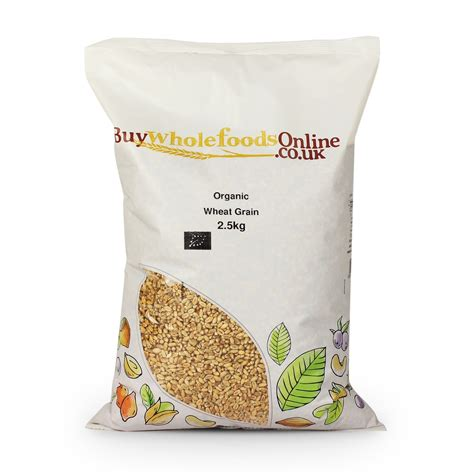 Whole Wheat Lazetta 2 5kg organic wheat grain 2 5kg