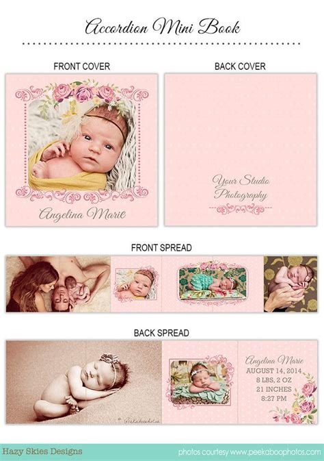 accordion photo cards templates 47 best images about template album on