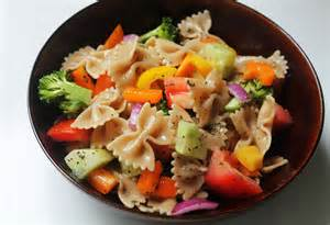 Pasta Salad Vegetarian rainbow vegetable pasta salad live learn love eat
