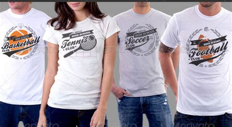 20 beautiful free and premium t shirt template designs
