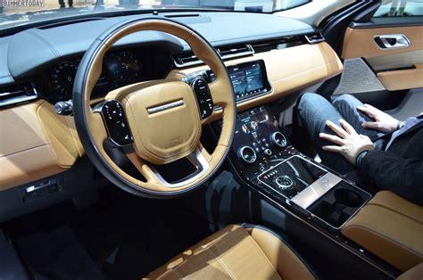 new land rover velar interior land rover range rover velar interior latest news car
