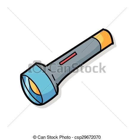 colored flashlight flashlight color doodle