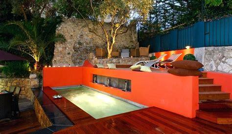 Decoration Terrasse Exterieur by Decoration Piscine Ext 233 Rieure Decoration Exterieur Jardin