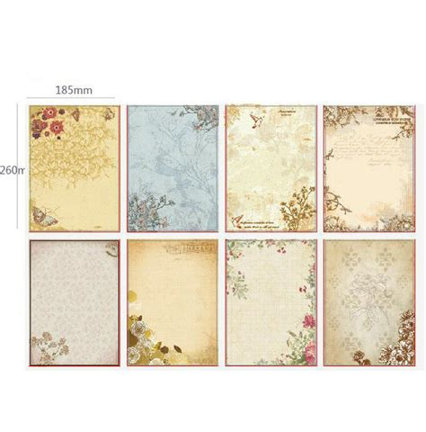 pattern writing paper popular vintage stationery paper buy cheap vintage