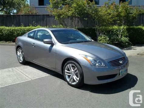 infiniti g37 awd coupe 2009 infiniti g37 coupe 2dr x awd for sale in vancouver