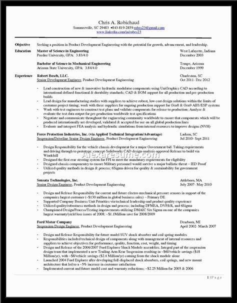 Manager Resume Objective Exles Functional Resume Objectives