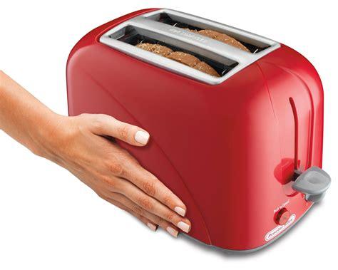 Proctor Silex 2 Slice Bagel Toaster Amazon Com Proctor Silex 2 Slice Toaster Red 22204