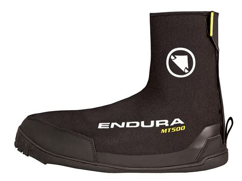endura mt500 plus overshoes survive flat pedals to keep