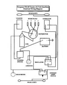ferguson 30 tractor wiring tractor free printable wiring diagrams