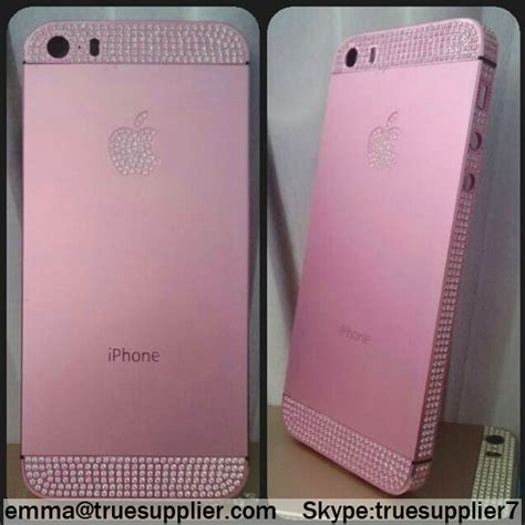 Housing 5s colorful apple iphone 5s back housing cover pink
