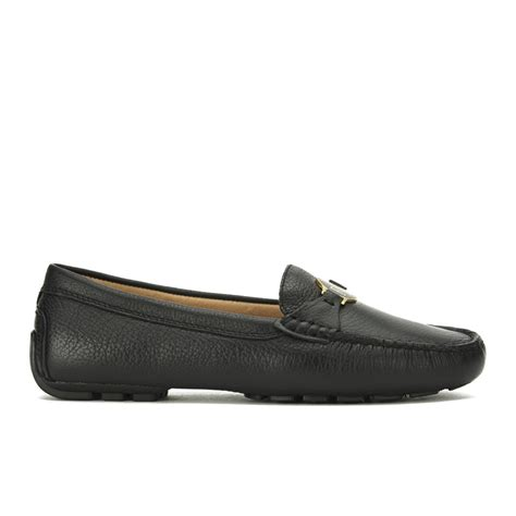 ralph leather loafers ralph s carley leather loafers black