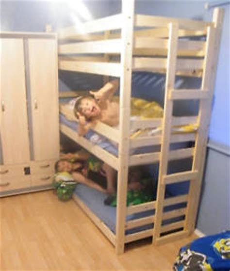 bunk beds 3 high bunk beds tri bunk bed 3 high bunk beds two widths