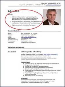 Curriculum Vitae Template Latex by Der Optimale Lebenslauf F 252 R Techniker Das Kurzprofil