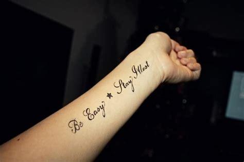 arm tattoo writing designs 30 cool cursive fonts ideas hative