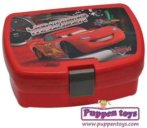 Lunch Box Set Disney Cars lunch set cars lightning mcqueen euroswan juguetes puppen toys