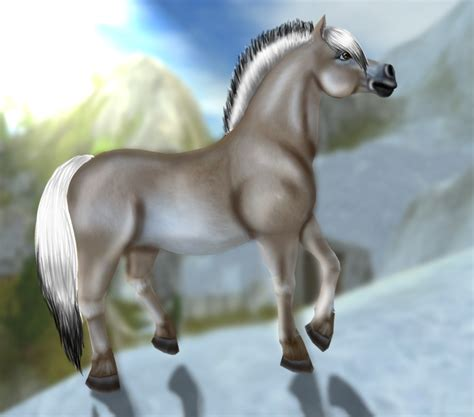 fjord horse star stable star stable pride aloma sunson capricorn redigering