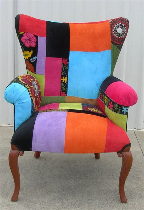 Patchwork Chairs - suzani patchwork chair