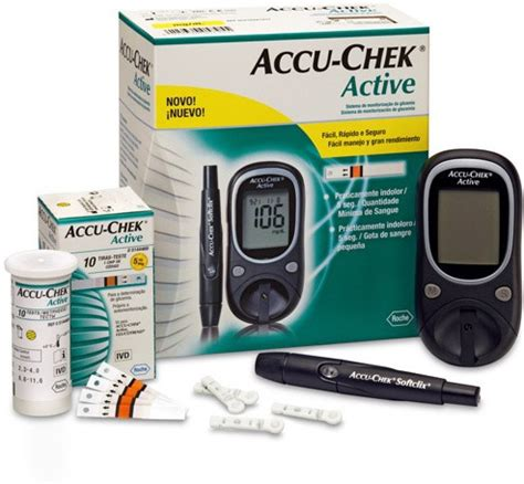 Accuchek Aktif accu check active glucose monitor with 10 strips glucometer price in india buy accu check