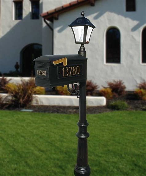 Solar Mailbox Light Builder Series Mailbox Post Solar L Package W 3