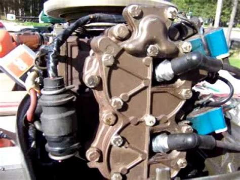 1976 35 Hp Johnson Outboard Problem Youtube