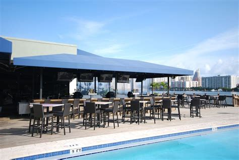 awnings for restaurants duffy s sports grill miami awning