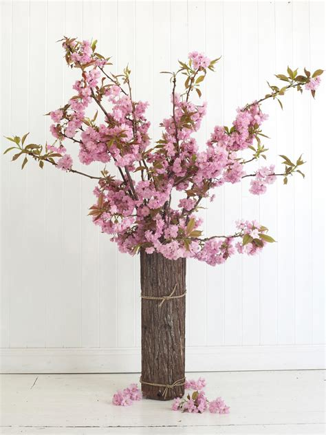 Artificial Plants Home Decor by Picture Perfect An Indoor Cherry Blossom Arrangement Hgtv