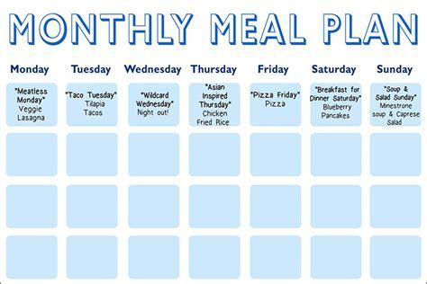 diet calendar template oz s meal planning calendar the dr oz show